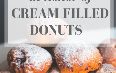 In Honor of Cream Filled Donuts