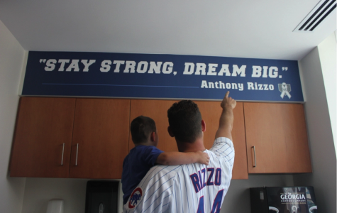 Bigger than Baseball: Cubs' Anthony Rizzo has an inspiring story beyond the World Series
