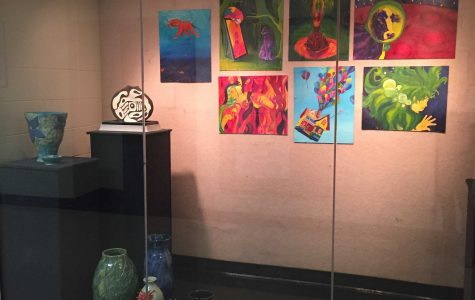 Strokes of Genius: LFHS Art Showcased Throughout the School