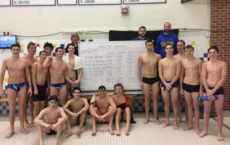 Grueling Schedule Improves Boys Swim/Dive Team