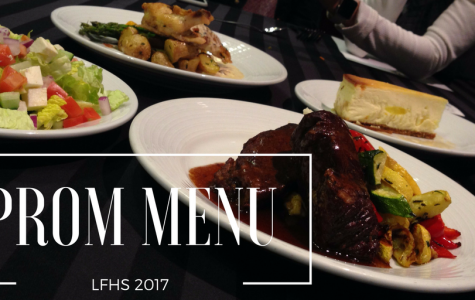 Prom 2017 Menu Announced