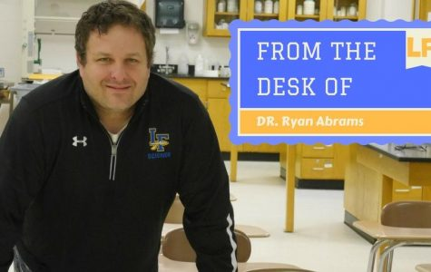 From the Desk of: Dr. Ryan Abrams