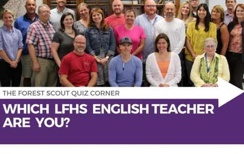 Quiz Corner: Which LFHS English Teacher are You?