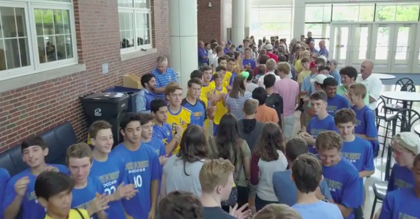 The Freshmen Clap In was started in reaction to a wave of student suicides that shook the LFHS community.
