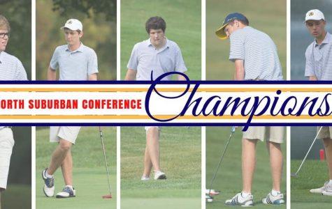 Boys Golf Earns Third Straight NSC Title