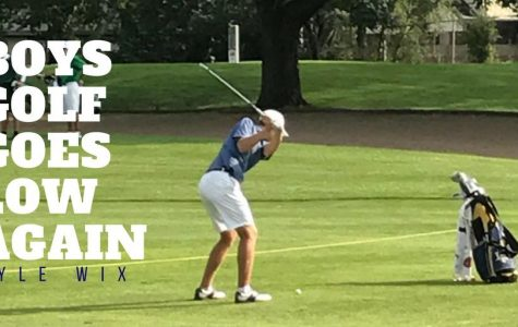 Boys Golf Goes Low Again
