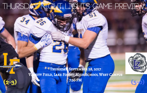 Game Preview: Lake Zurich Bears (5-0, 3-0) vs. Lake Forest Scouts (2-3, 0-3)