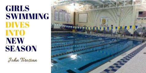 Girls Swimming Diving into New Season