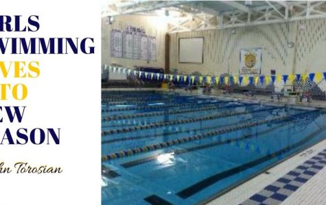 Girls Swimming Diving into New Season
