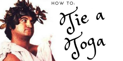 How to: Tie a Toga 3