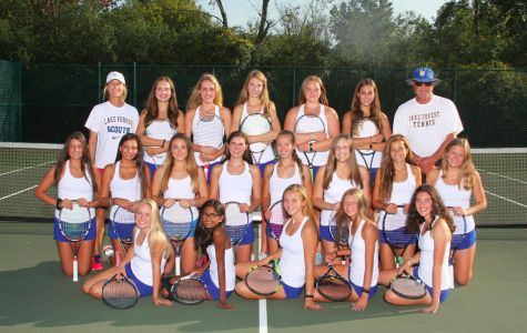 Girls Tennis Finishes 2nd in NSC