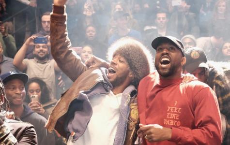 Kanye West makes on-stage return