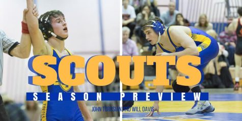 Wrestling Team Sending Five Scouts to Sectionals