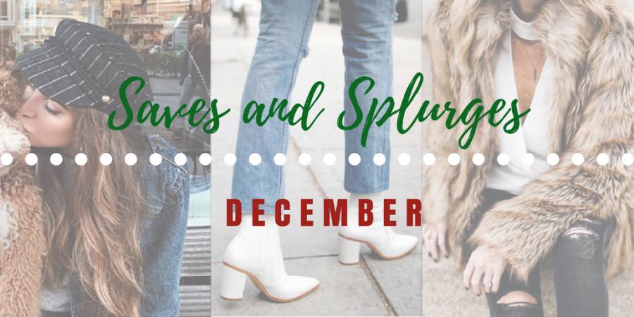 Save or Splurge: December Fashion 20