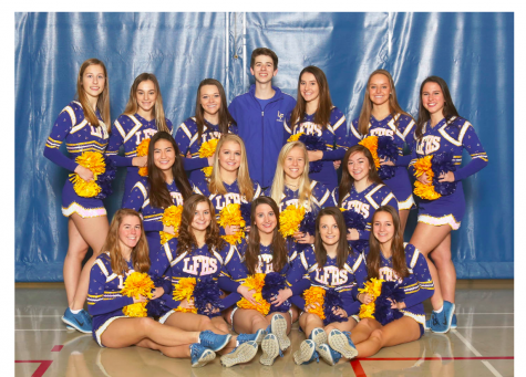LFHS Dance Team prepares for NSC Meet