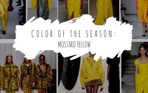Colors of the Season: Mustard Yellow