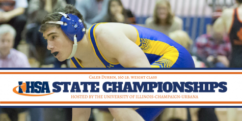 Never doubt a Durbin: senior looks to become second in family to become IHSA State Champion 1