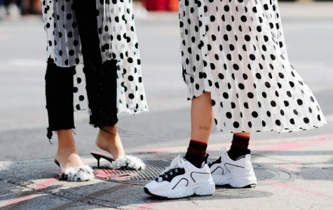 NYFW Street style Sneakers