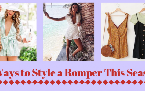 Spring Style: 3 Ways to Style Rompers
