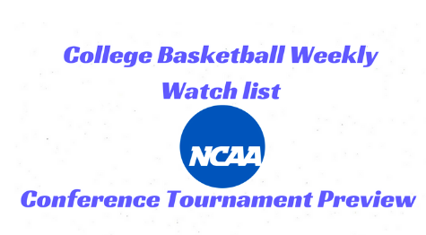 College Basketball Weekly Watch List: Conference Tournament Preview 5