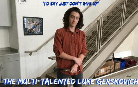 'I'd say just don't give up': LFHS' multitalented sophomore musician Luke Gerskovich