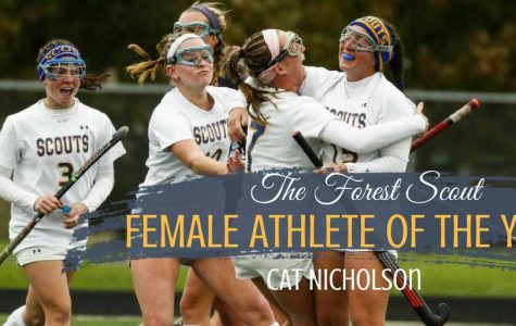 The Forest Scout 2018 Female Athlete of the year: Cat Nicholson