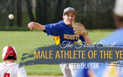 The Forest Scout 2018 Male Athlete of the Year: Caleb Durbin
