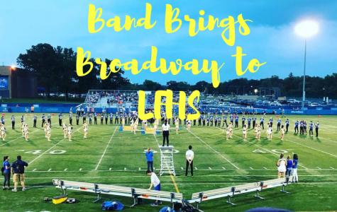 Band Brings Broadway to LFHS Homecoming