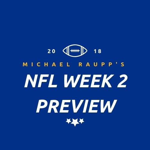 NFL Week 2 Preview 1