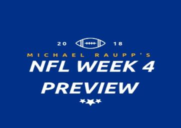 NFL Week 4 Preview