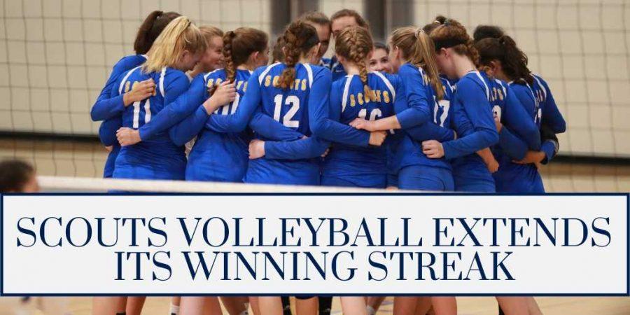 Scouts Volleyball Extends Its Winning Streak 1