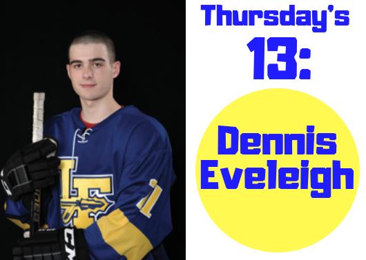 Thursday's 13: Dennis Eveleigh