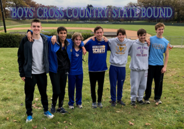 Boys' XC Places Fifth In Sectionals, Qualifies For State