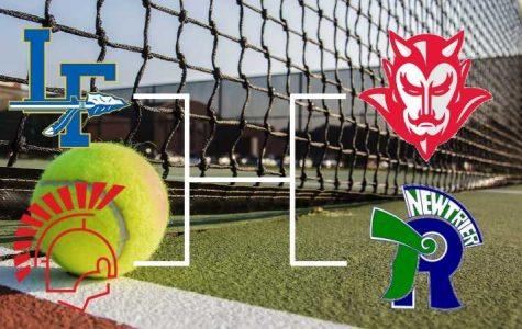 Girls' Tennis Falls Short of First Place