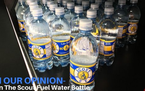 Ban the Scout Fuel water bottle