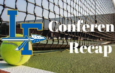 Girls' Tennis Wins Conference