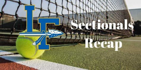 Girls' Tennis Wins Sectionals