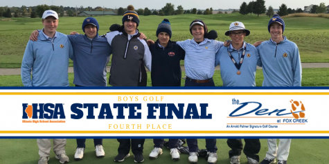 Scouts Golf Team Caps off Season with 4th Place Finish at State