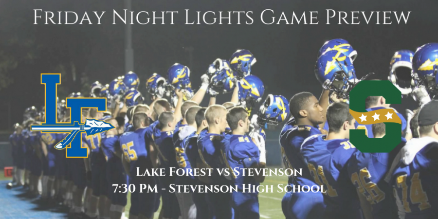 There%E2%80%99s+not+much+that+can+be+said+to+add+to+the+importance+of+tonight%E2%80%99s+game.+Week+Nine.+Stevenson+versus+Lake+Forest.+For+the+Scouts%2C+win+and+you%E2%80%99re+in.+Lose%2C+and+the+season%E2%80%99s+over.+For+the+Patriots%2C+playoff+seeding+is+at+stake+as+they%E2%80%99ll+look+for+a+high+seed+in+the+8A+bracket+while+also+celebrating+the+careers+of+their+seniors+on+Senior+Night.+Temperatures+look+to+be+around+50+degrees+as+the+game+kicks+off+at+7%3A30PM+in+Lincolnshire.+++About+the+Patriots%3A+Stevenson+comes+in+at+6-2+%284-2+in+conf.%29+with+losses+to+Lake+Zurich+in+overtime+and+Warren.+Coached+by+Josh+Hjorth%2C+the+Patriots+are+10-6+through+two+seasons+with+Hjorth.+They%E2%80%99ve+been+pretty+dominant+over+the+Scouts+even+beyond+Hjorth%E2%80%99s+tenure+with+their+last+loss+coming+in+2011.+They%E2%80%99re+led+on+offense+by+highly+touted+junior+running+back+JM+Etienne+and+senior+quarterback+Cole+Okmin.+The+duo+has+driven+an+offense+which+is+averaging+30.5+points+per+game+through+eight+contests.+The+Patriots+love+to+throw+the+ball+downfield+too+as+they+have+an+experienced+crew+of+receivers.+On+defense%2C+Maema+Njongmeta+and+Jordan+Vincent+are+players+to+look+out+for+from+the+linebacker+position.+The+Patriots+biggest+hole+on+defense+comes+at+their+secondary+which+will+have+a+tough+task+guarding+Lake+Forest%E2%80%99s+talented+receivers.+++About+the+Scouts%3A+Coming+off+a+16-9+victory+over+Libertyville%2C+Lake+Forest+hopes+to+extend+their+eight+season+playoff+streak+and+will+need+a+win+tonight+to+do+so.+They+used+a+13-0+run+in+the+waning+moments+of+last+Friday%E2%80%99s+game+to+knock-off+the+Wildcats.+The+Scouts+welcome+the+return+of+tight+end+Crawford+Bolton%2C+who%E2%80%99s+coming+off+a+sprained+MCL+injury%2C+and+wide+receiver+Breck+Nowik%2C+who+suffered+a+concussion+against+Zion-Benton.+Coach+Spagnoli%E2%80%99s+offense+will+need+to+take+advantage+of+the+Stevenson+secondary+through+the+air+to+keep+up+with+the+high+scoring+Patriots.+Lake+Forest%E2%80%99s+de