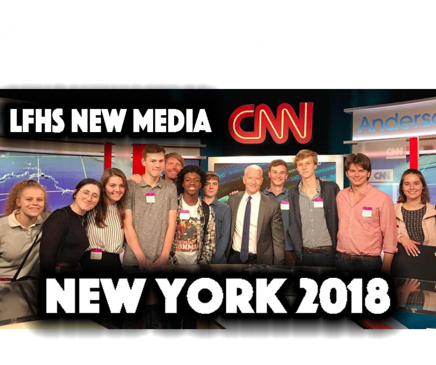 New Media team travels to NYC to compete in film fest