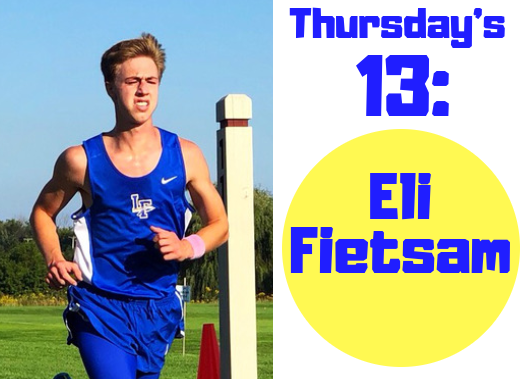 Thursday's 13: Eli Fietsam