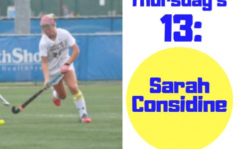 Thursday's 13: Sarah Considine