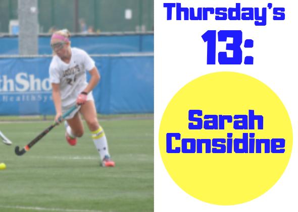 Thursdays 13: Sarah Considine
