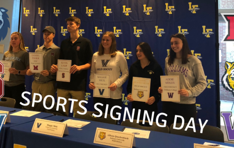 LFHS Athletes Sign NLI