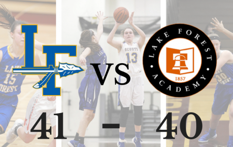 Girls Basketball Etches Out Win Over Lake Forest Academy