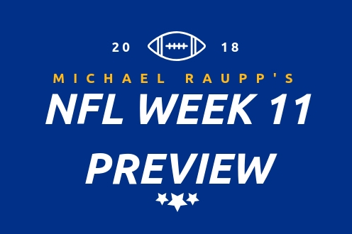 NFL Week 11 Preview: Who has the leagues top offense? We will find out Monday night