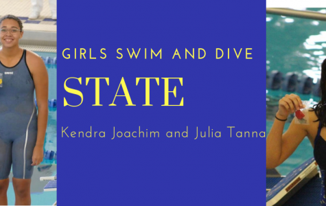 Two swimmers to compete in State Friday