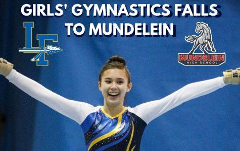 Girls' Gymnastics Falls To Mundelein