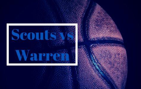 Scouts vs Warren- Scouts win 48-46: Game play video