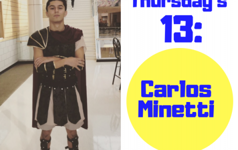 Thursday's 13: Carlos Minetti